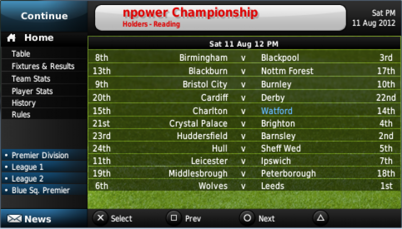 Football Manager Handheld - Android Games Free Download